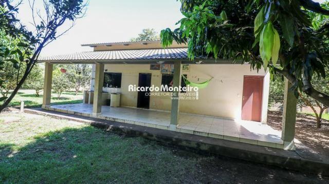 Chácara na beira do lago, pronta para morar a 22km do centro de Palmas - Foto 10