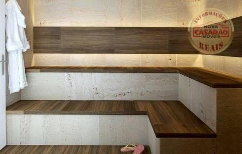 Apartamento com 2 dormitórios à venda, 72 m² por R$ 362.373 - Cidade Ocian - Praia Grande/ - Foto 14