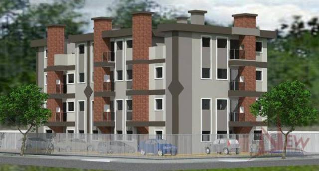 Excelente apartamento com 03 quartos (1 suíte) no Afonso Pena, São José dos Pinhais - Foto 3