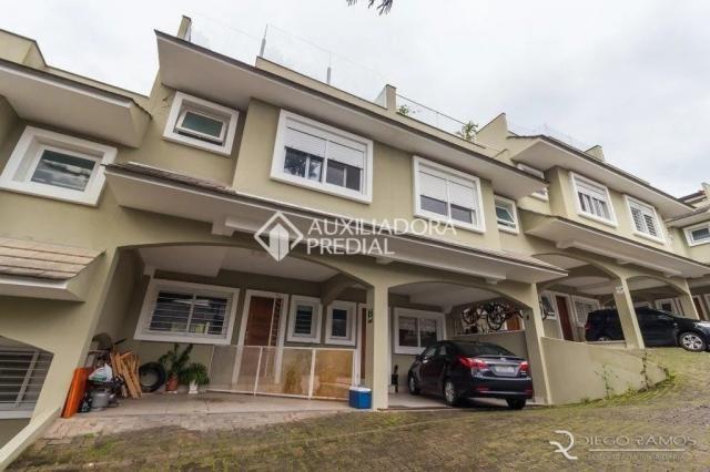 Casa de condomínio à venda com 3 dormitórios em Tristeza, Porto alegre cod:307207