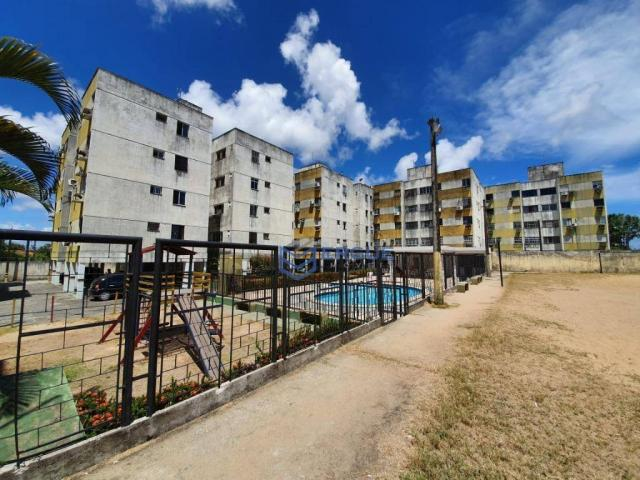 Apartamento com 3 dormitórios à venda, 64 m² por r$ 165.000 - cidade dos funcionários - fo - Foto 3