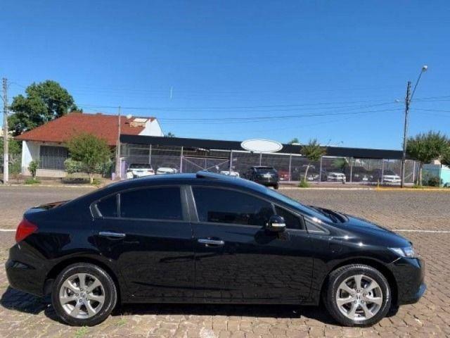 Honda Civic 2012 com teto Solar com parcelas de 427,00 - Foto 2