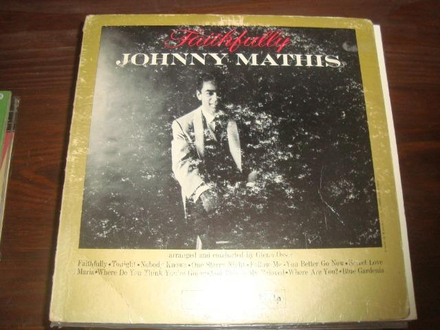 Johnny Mathis, Faithfully, Lp Vinil usado, importado