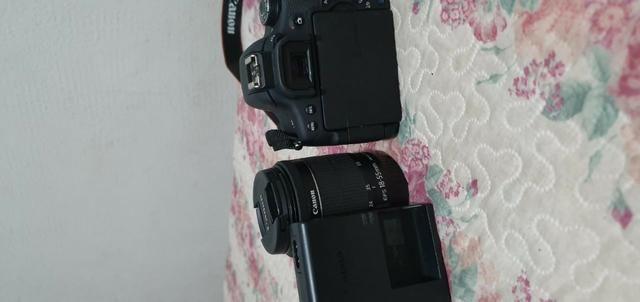 Câmera Fotográfica Semi Profissional Canon