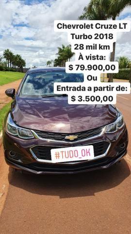 Chevrolet Cruze LT Turbo 2018