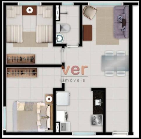 Apartamento à venda no centro da Caucaiapor R$ 124.990 - Padre Romualdo - Caucaia/CE - Foto 3