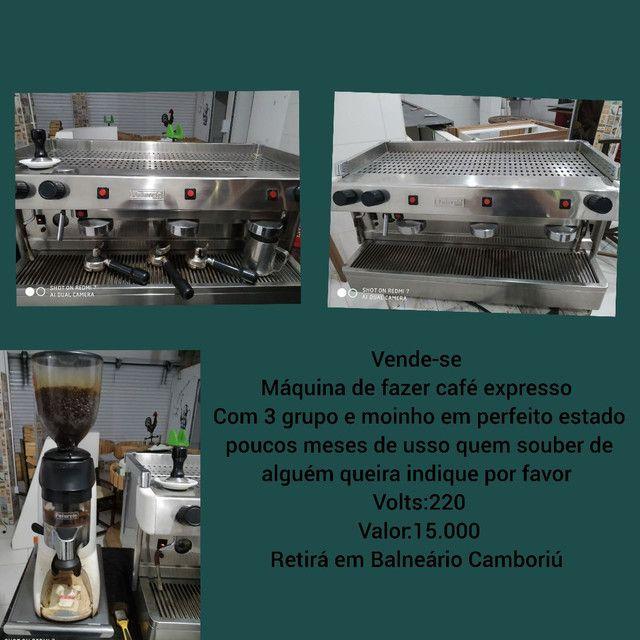 Vende-se máquina de fazer café expresso