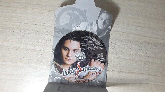 Cd Luan Santana To De Cara - promocional raro - Foto 4