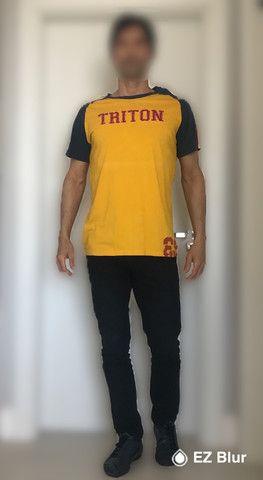 Camiseta Casual Triton