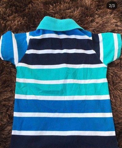 Camisa infantil tamanho 2 - Foto 2