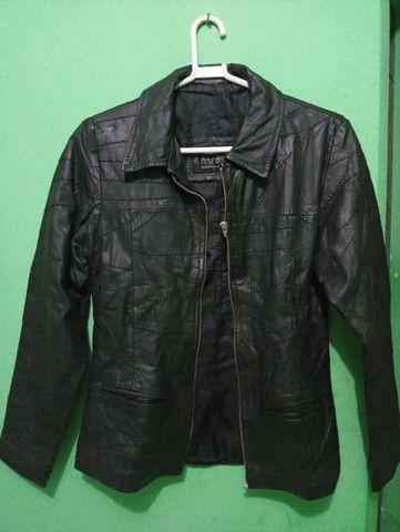 Jaqueta de couro legítimo - Foto 5