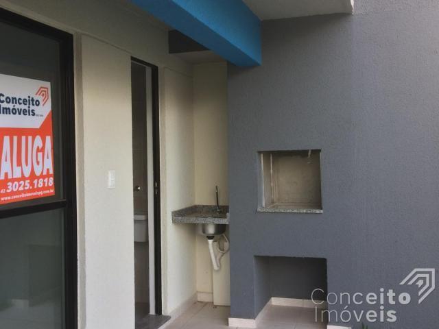 Apartamento para alugar com 1 dormitórios em Jardim carvalho, Ponta grossa cod:393113.001 - Foto 13