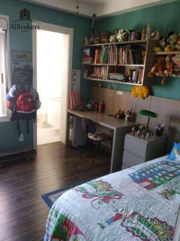 Apartamento com 3 suítes à venda, 162 m² por R$ 1.490.000 - Central Parque - Porto Alegre/ - Foto 12