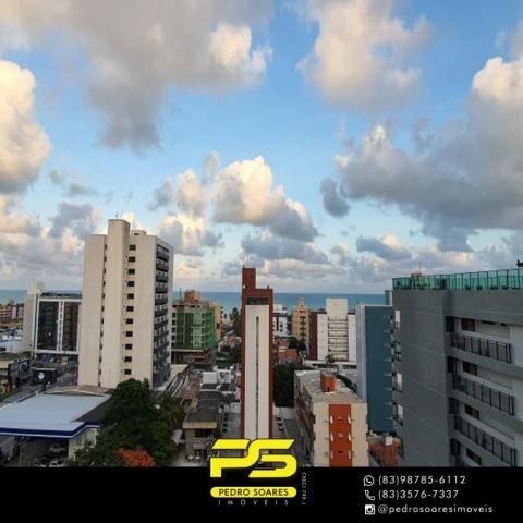 (ALUGO) Apartamento com 2 dormitórios para alugar, 67 m² por R$ 2.100/mês - Cabo Branco -  - Foto 6