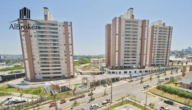 Apartamento com 3 suítes à venda, 162 m² por R$ 1.490.000 - Central Parque - Porto Alegre/