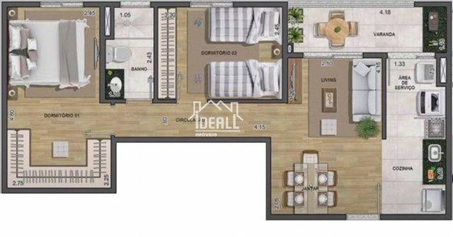 Apartamento para venda com 57 m² e lazer completo - Foto 8