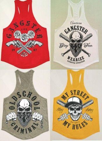 Camisetas Cavada estampas Variadas !