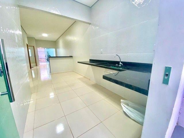 Casa nova 3 quartos com suíte, garagem lateral, 9x20  - Foto 7