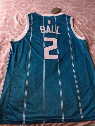 Camisa Charlotte hornets 20/21 Ball 2 - Foto 5