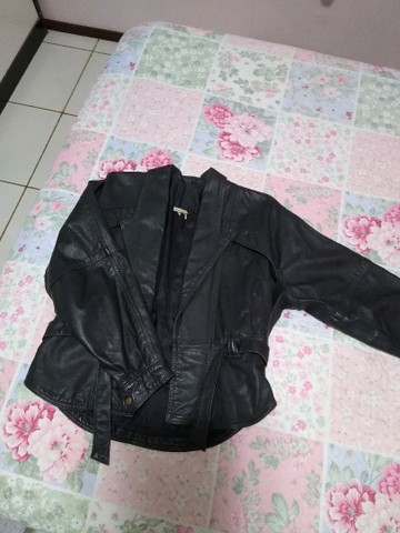 Jaqueta de couro legítimo - Foto 4