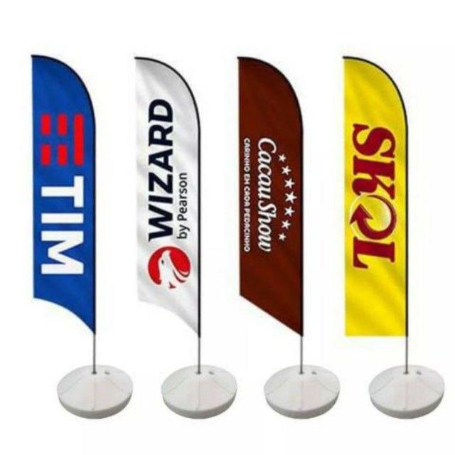 Wind Banner - Big Flag - O melhor para Anunciar seu negocio - Foto 5