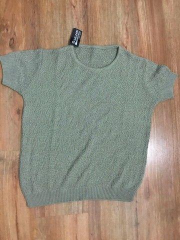 Blusas de linha  - Foto 4