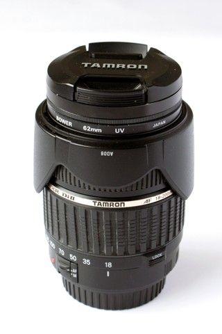 Lente Tamron 18-200mm Xr Di Ii Para Canon Super Novinha - Foto 6