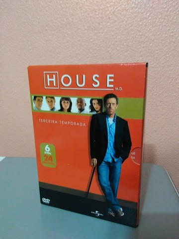 House DVD Temp 01 a 05 - Foto 4