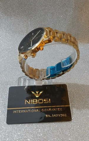 Relogio Nibosi De Luxo Original  - Foto 5