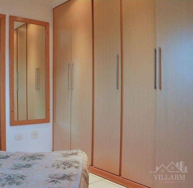 Apartamento com 4 dormitórios para alugar, 196 m² por R$ 5.700,00/mês - Vila Santo Estéfan - Foto 4
