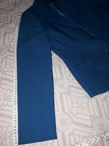 Conjunto azul, calça e blusa - Foto 6
