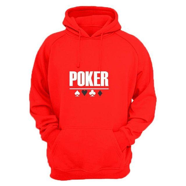 Moletom canguru com estampa Poker - Foto 4