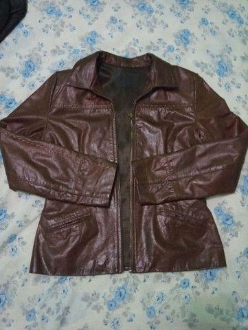 Jaqueta de couro legítimo importada. - Foto 5