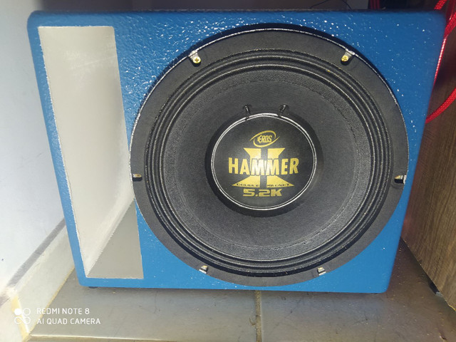Eros Hammer 5.2k 2600 RMS com caixa Full trap projetada