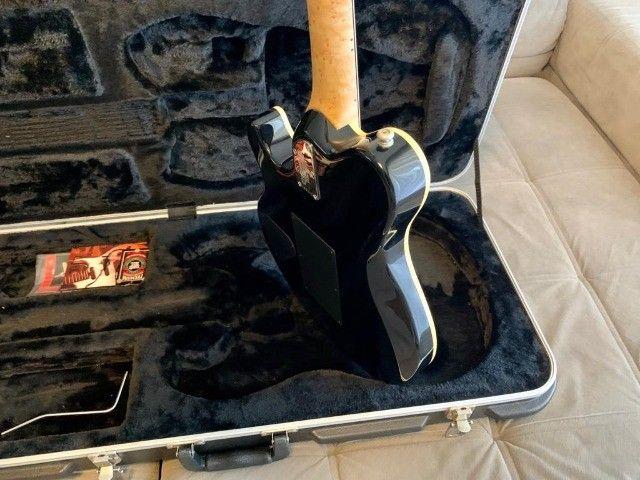 Guitarra Music Man Axis Trans Gold, EVH, em excelente estado! - Foto 4