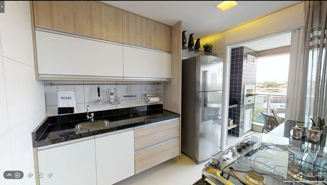 Apartamento Novo, três quartos, Itbi, ecritura, Registro GRÁTIS! - Foto 15