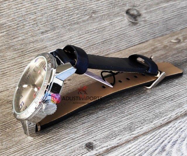 Oferta! Dia dos namorados está chegando! Relógio importado novo e com garantia! - Foto 2