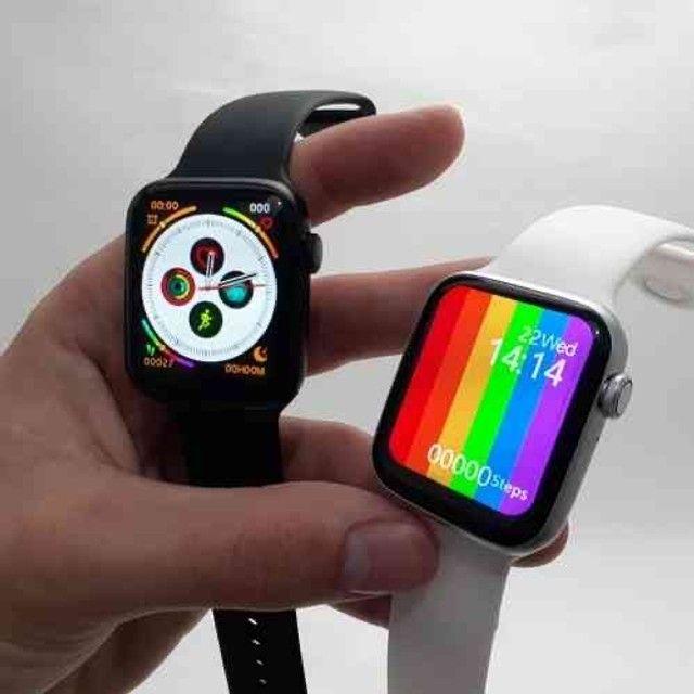 Relógio inteligente Smartwatch W26 44mm - Foto 3