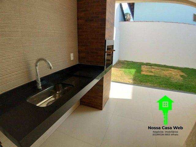 Casa para venda tem 138 metros quadrados com 3 quartos em Parque das Flores - Goiânia - GO - Foto 9