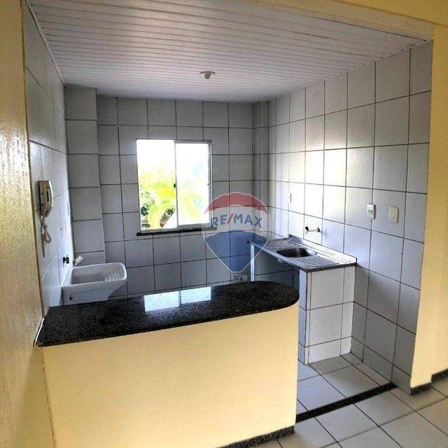 Apartamento com 2 dormitórios para alugar, 46 m² por R$ 750,00/mês - Edson Queiroz - Forta - Foto 6