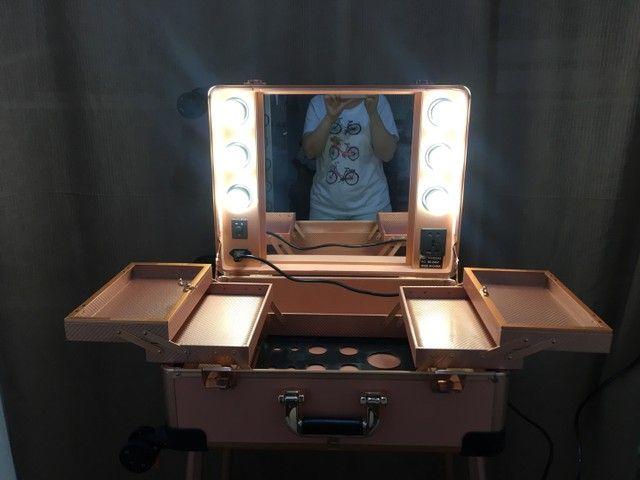 Maleta camarim (para atendimento homecare) maquiagem / estética  - Foto 3