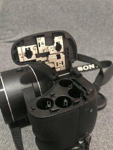 Câmera Sony Cyber-shot DSC-H300 QUERO VENDER LOGO - Foto 5