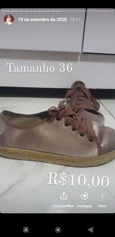 Vendo roupas e calcados Tam P ao M, R$10,00 a R$20,00 - Foto 6