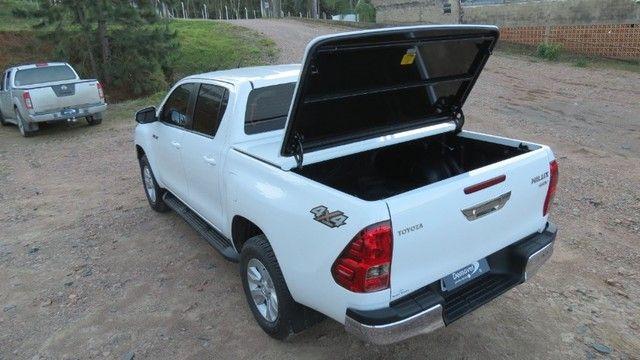 Tampao Aço Demovel elétrico HIlux Toro Ranger S10 Amarok SAveiro com instalacao - Foto 13