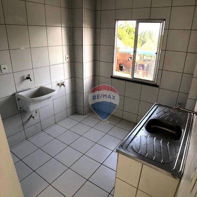 Apartamento com 2 dormitórios para alugar, 46 m² por R$ 750,00/mês - Edson Queiroz - Forta - Foto 8