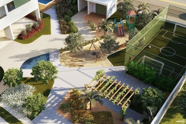 LT- Vendo  apartamento de 03 quartos no Barro - José Rufino - Edf. Alameda Park - Foto 14