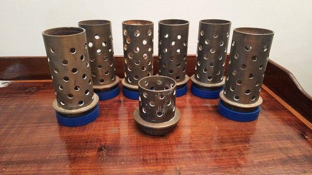 """Tubos de aço inox para fundição 3"""" X 18cm - Foto 3"""