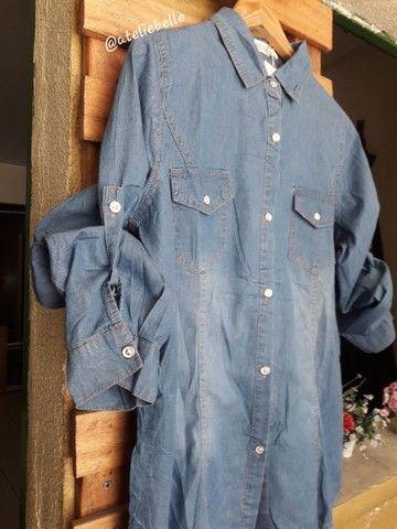 Blusa feminina  jeans