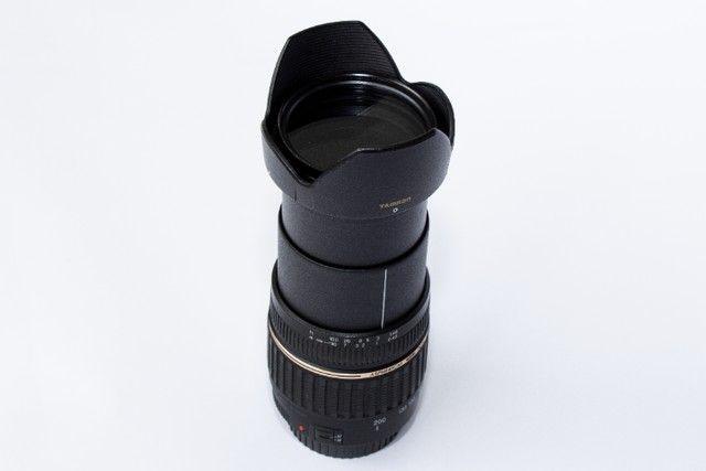 Lente Tamron 18-200mm Xr Di Ii Para Canon Super Novinha - Foto 3