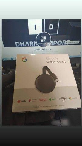 Chromecast geração 3 original e lacrado.
